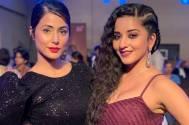 Nazar actress Mona Lisa's fangirl moment with Hina Khan