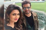 Yeh Hai Mohabbatein's Divyanka Tripathi and Karan Patel shoot together; check the fun BTS video