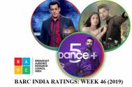 BARC India Ratings:Yeh Jaadu Hai Jinn Ka on number three; Bigg Boss and Dance Plus in top ten!
