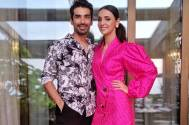 Mohit Sehgal and Sanaya Irani start their weekend on a relaxing note!