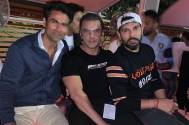 Sohail Khan, Mohammad Kaif, and Yuvraj Singh make for a happy picture