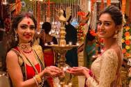 Erica Fernandes and Pooja Banerjee give us major friendship goals