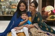 Shweta Tiwari celebrates Reyansh's birthday on the sets of Mere Dad Ki Dulhan