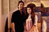 Shaheer Sheikh wishes co-star Sonarika Bhadoria; gives her a royal name