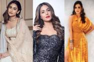 Meet the pout queens of TV: Krystle D'Souza, Hina Khan, and Sanaya Irani!