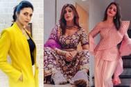 Divyanka Tripathi, Shrenu Parikh, and Kishwer Merchantt rock the 'haldi ceremony look'!