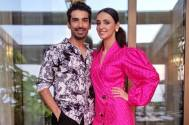Sanaya Irani and Mohit Sehgal strike a COOL pose during their VACATION
