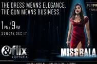 An aspiring beauty queen caught in the middle of a drug war, Miss Bala premiers on &flix