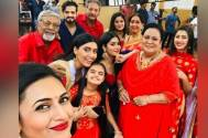 Divyanka Tripathi shares BTS photos from Yeh Hai Mohabbatein sets