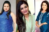 Raveena, Farah, Bharti