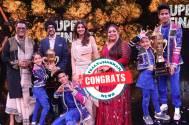 Florina Gogoi from Jorhat, Assam wins the title of Super Dancer – Chapter 4 trophy!