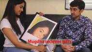 Mugdha fulfills fan's long time desire