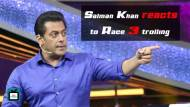 Salman Khan reacts to Race 3 trolling