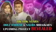 Tik Tokers Awez Darbar and Nagma Mirajkar
