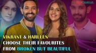 Vikrant Massey and Harleen Sethi