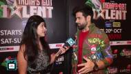 Rithvik Dhanjani all set to rock the stage of India's Got Talent Season 8