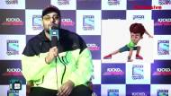 Badshah shares his childhood 'superhero' and his experience while shooting on chroma background