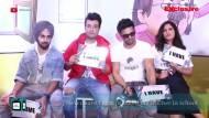 Cast of Fukrey; Pulkit, Varun, Richa & Manjot play 'Never Have