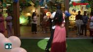 Romantic dance moments between Sid and Ishani on the sets of Sanjivani