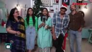 Shweta Tiwari turns a secret santa for Hina Khan & others along with the cast of Mere Dad Ki Dulhan