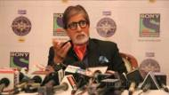 Big B at the launch of Kaun Banega Crorepati season 7