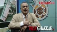 Tellychakkar                 .com catches up with Shivaji Satam on the sets of CID