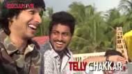 Bindass Naach: SELFIE video with Shantanu and team