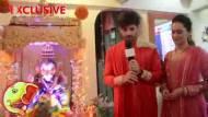 #Ganesh          Chaturthi Spl : Vikas Welcomes his CUTE Ganu