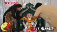 #Ganesh       Chaturthi Spl : Sambhavna Seth welcomes Ganpati
