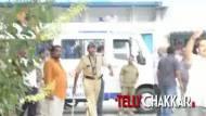 #Pratyushadeath : Ajaz Khan fights at the hospital