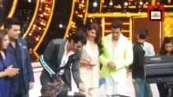 Manish Paul's birthday celebration on the sets of Jhalak