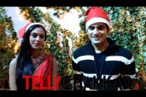 Jingle bells, jingle bells...with Karan Tacker and Krystle D'souza