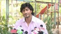 Commando Vidyut Jamwal on the sets of CID