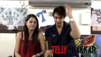 Saurabh Raj Jain and his wifey in the house