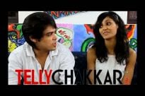 The coolest couple - Rey (Kunwar Amar) and Kriya (Shakti Mohan)
