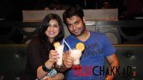 """Vivian Dsena and Vahbbiz Dorabjee say """"cheers"""""""