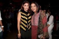 Mira Nair with Soha Ali Khan
