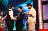 Shah Rukh Khan sets of Colors' Madhubala