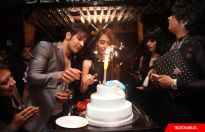 Sara Khan's birthday party
