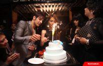 Sara Khan's birthday party