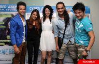 Rithvik Dhanjani, Pratyusha Banerjee, Priya Wal, Vikas Gupta and Meiyang Chan