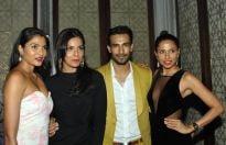 Hemangi Parti, Dipti Gujral, Asif Azim and Candice Pinto