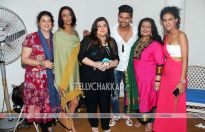 Ravi Dubey, Nia Sharma, Achint Kaur,Delnaaz Irani And Apara Mehta, And