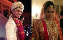 Wedding pics of Arpita Khan