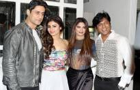 Mohit Raina, Mouni Roy, producers Sohanna Sinha and Nikhil Sinha