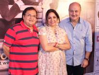 Rakesh Bedi, Neena Gupta and Anupam Kher