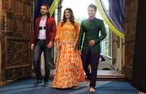 Karan V Grover, Anushka Ranjan and Diganth Manchale