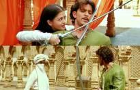 Aishwaya Rai Bachchan and Hrithik Roshan in Jodha Akbar