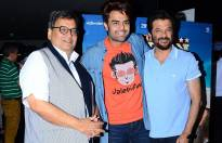 Subhash Ghai, Manish Paul and Anil Kapoor