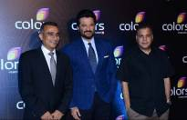 Anil Kapoor and Raj Nayak (CEO, Colors)